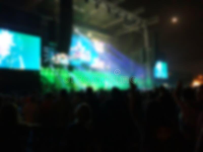抽象背景弄脏了 协力观众的Bokeh照明设备 库存照片