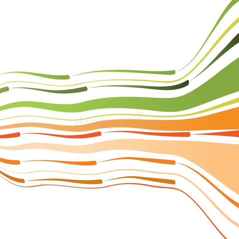 抽象背景弯曲的线路 皇族释放例证