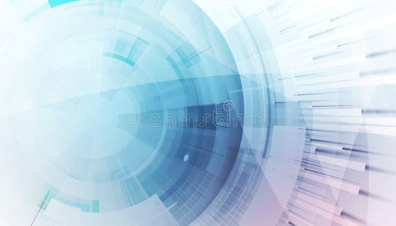 抽象背景技术 未来派技术接口 向量例证