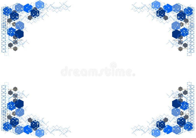 Download 抽象背景技术 模板 向量例证. 插画 包括有 医疗, 线路, 蓝色, 形状, teched的, 模板, 工作 - 72351032