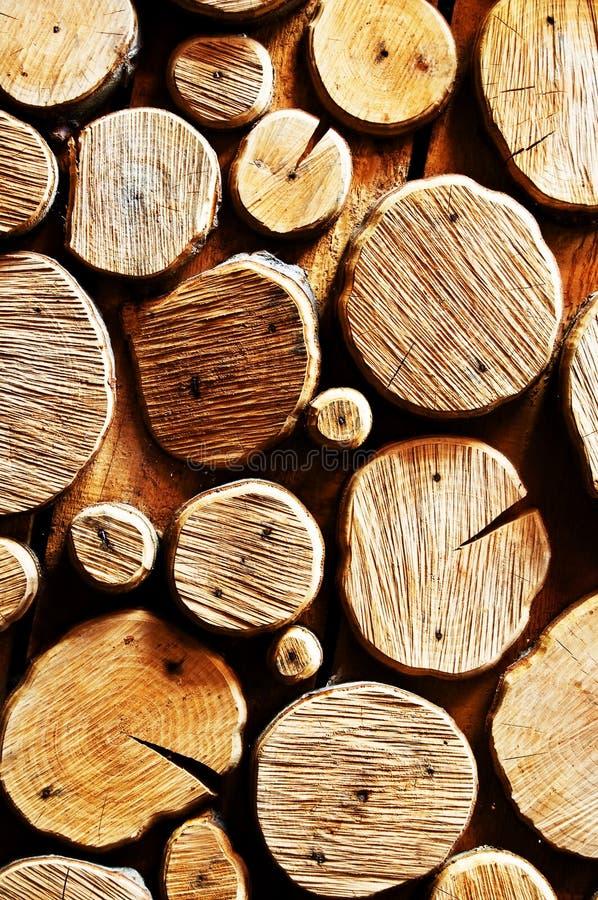 抽象背景日志木头 免版税库存图片