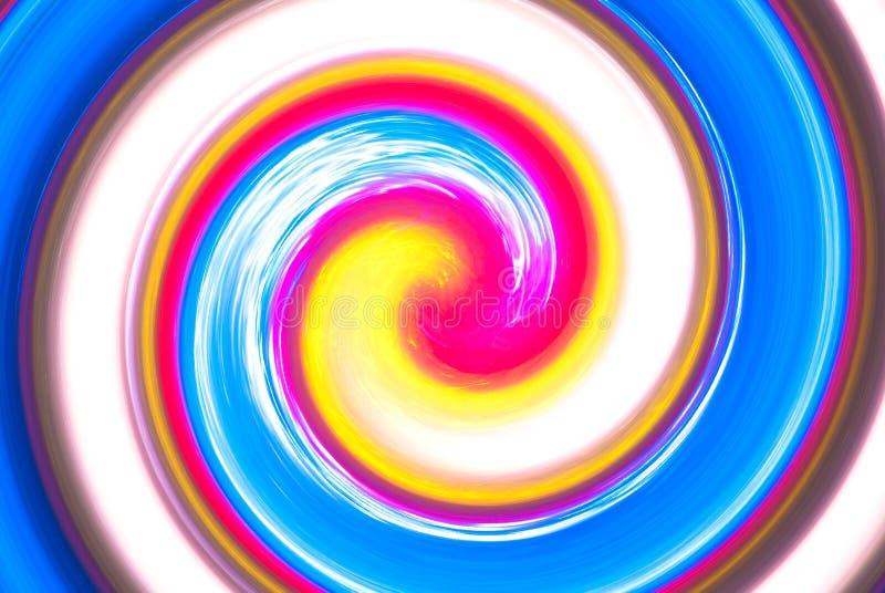 抽象背景明亮多色 向量例证