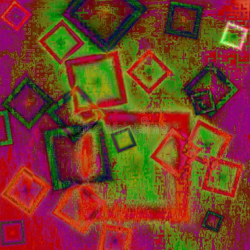 抽象背景构成主义 向量例证