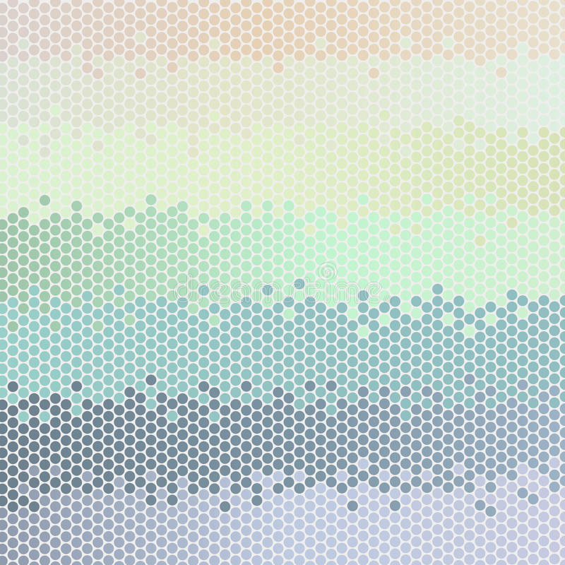 抽象背景柔和的淡色彩向量 皇族释放例证