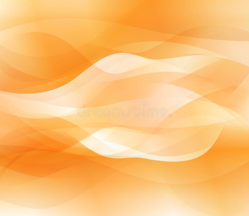 抽象背景桔子向量 库存例证