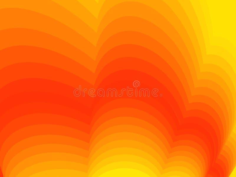 抽象背景桔子 抽象背景镜象向量 向量例证