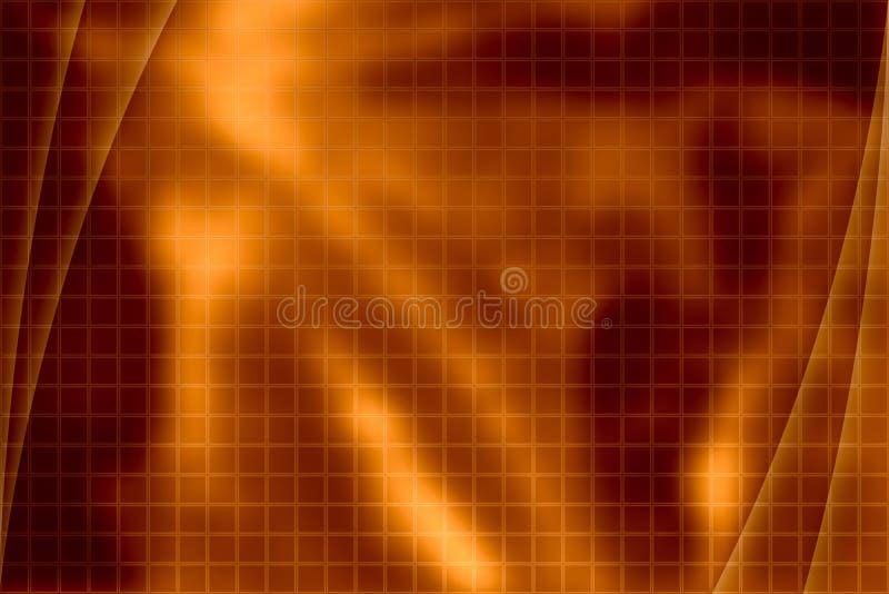 抽象背景桔子 皇族释放例证