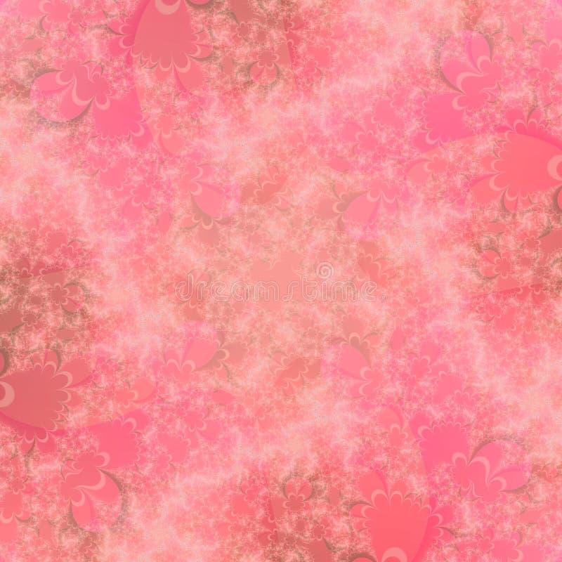 抽象背景模式桃子 向量例证