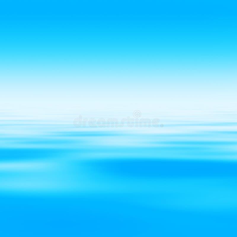 抽象背景水 免版税库存图片