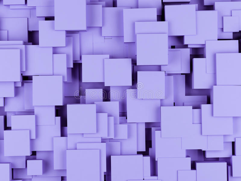 抽象背景求图象的立方 3回报 库存例证