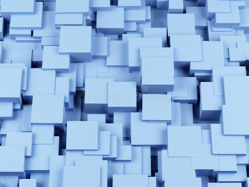 抽象背景求图象的立方 3图象 向量例证