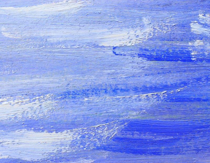 抽象背景油画 库存图片