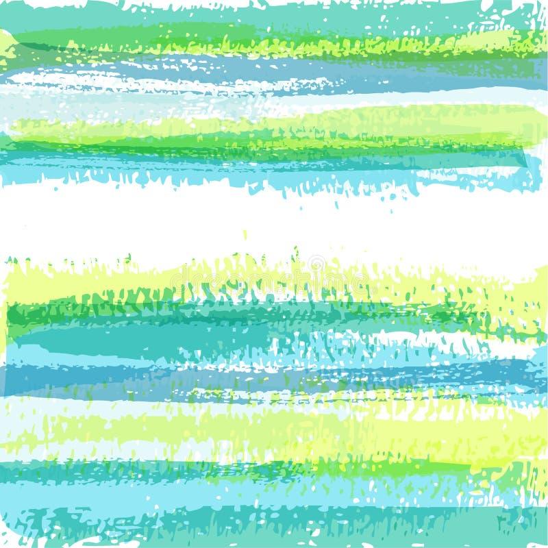 抽象背景画笔 库存例证