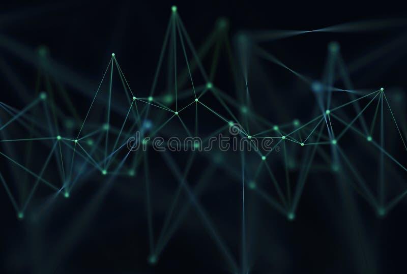 抽象背景科学技术 皇族释放例证