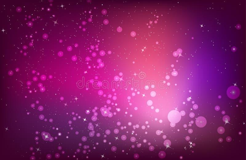 抽象背景粉红色紫色红色 皇族释放例证