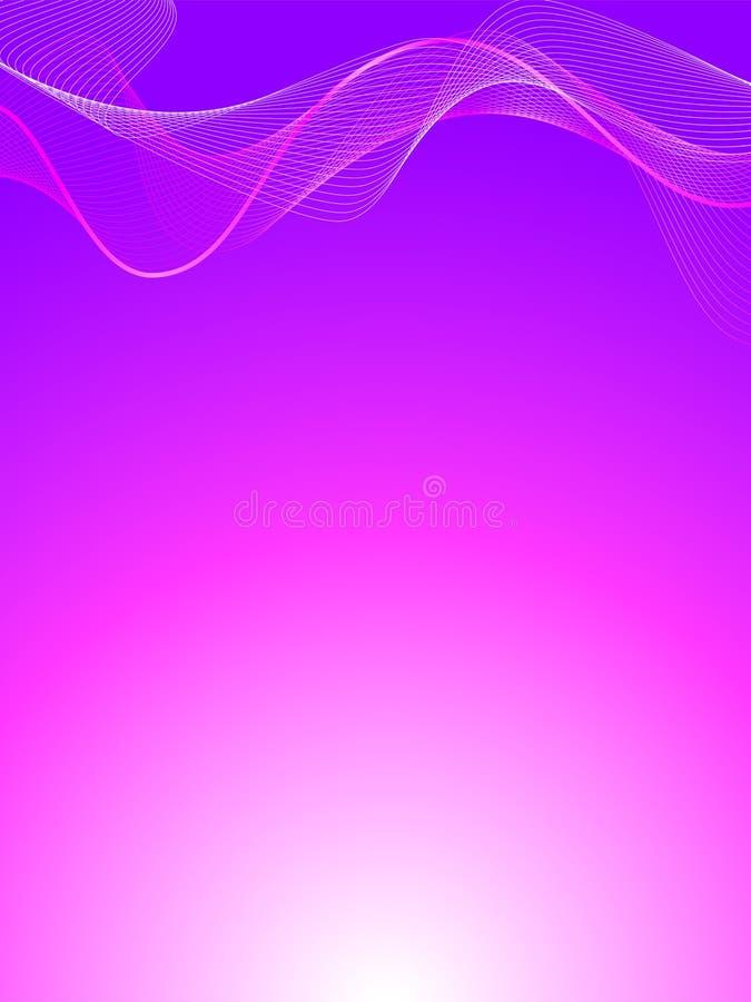 抽象背景粉红色紫色 库存例证
