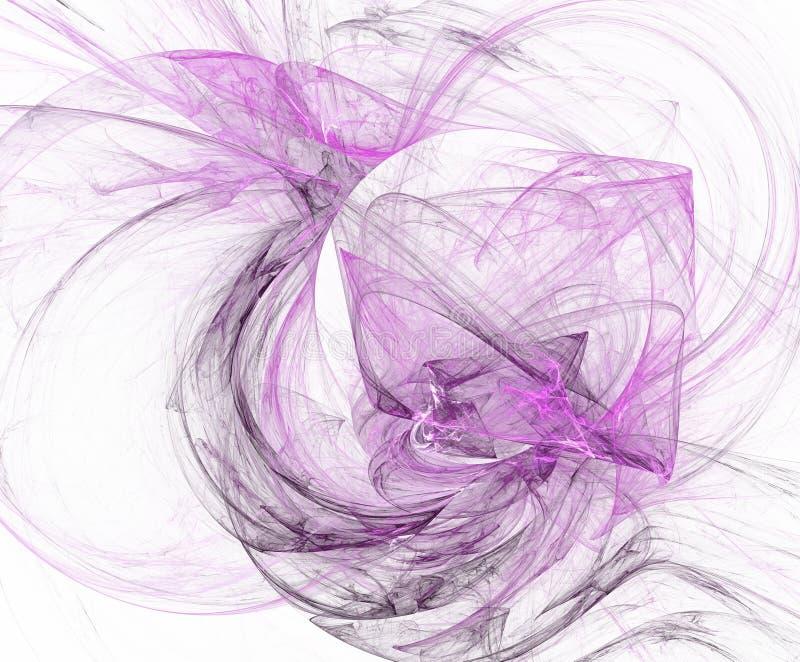 抽象背景粉红色 分数维,关于想象力的创造性的纹理背景设计  向量例证