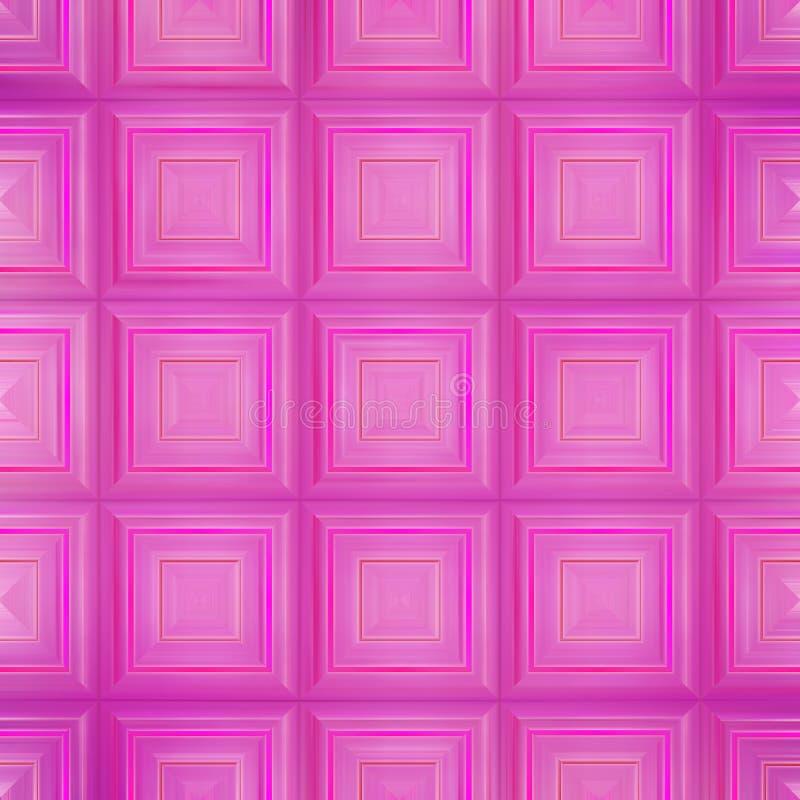 抽象背景粉红色 库存例证