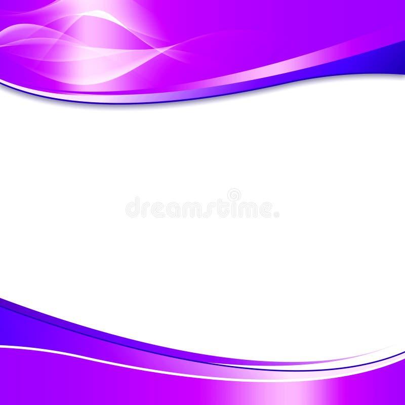 抽象背景紫色 向量例证