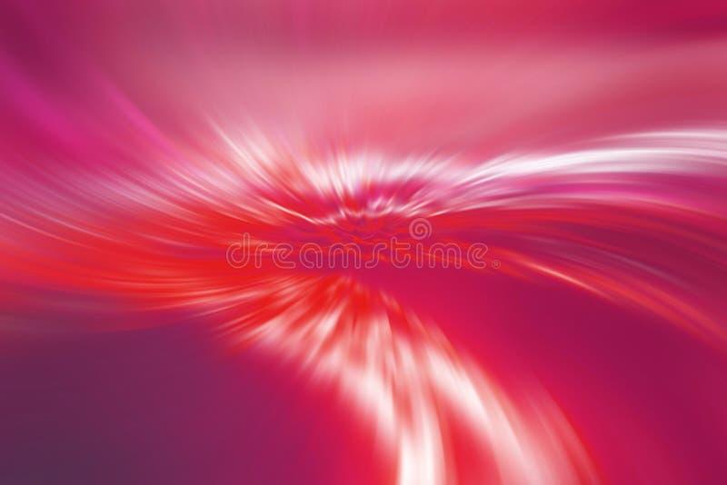 抽象背景红色条纹 库存例证