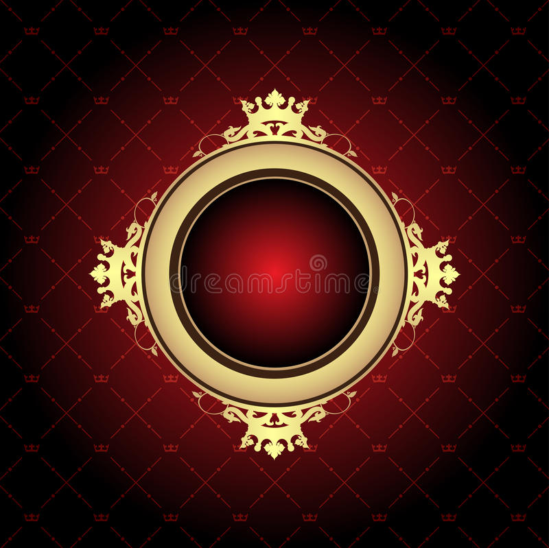 抽象背景红色 皇族释放例证