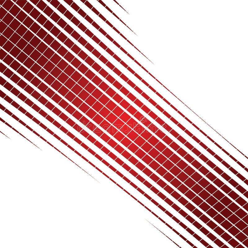 抽象背景红色 库存例证