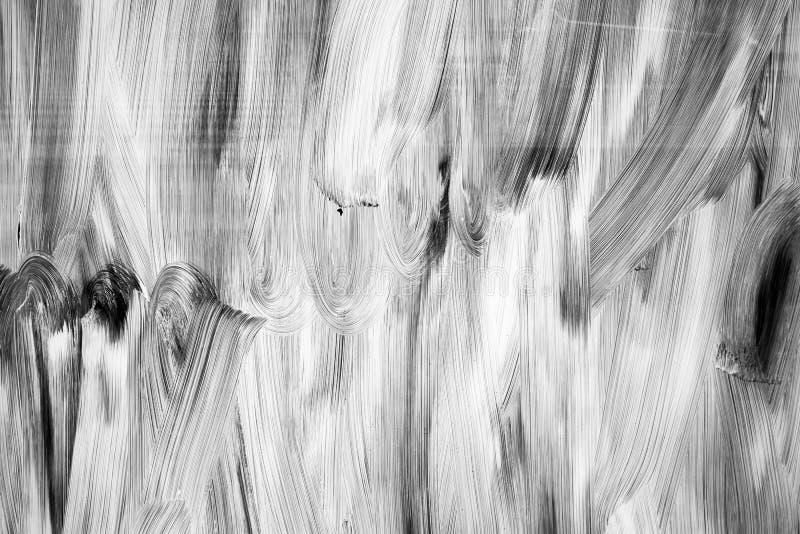 抽象背景纹理,在玻璃的白色油漆样式 图库摄影