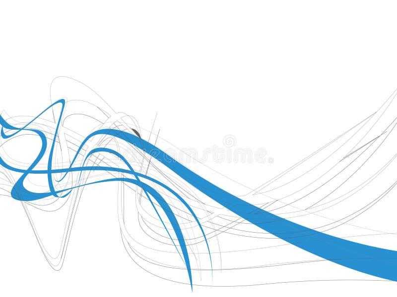 抽象背景线路通知 向量例证