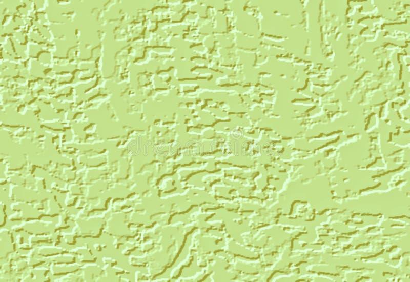 抽象背景绿色 黑,与作用油漆的白色伤疤 皇族释放例证