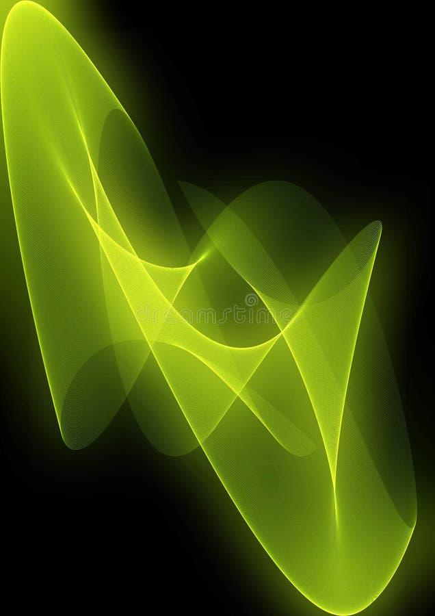 抽象背景绿色 图库摄影