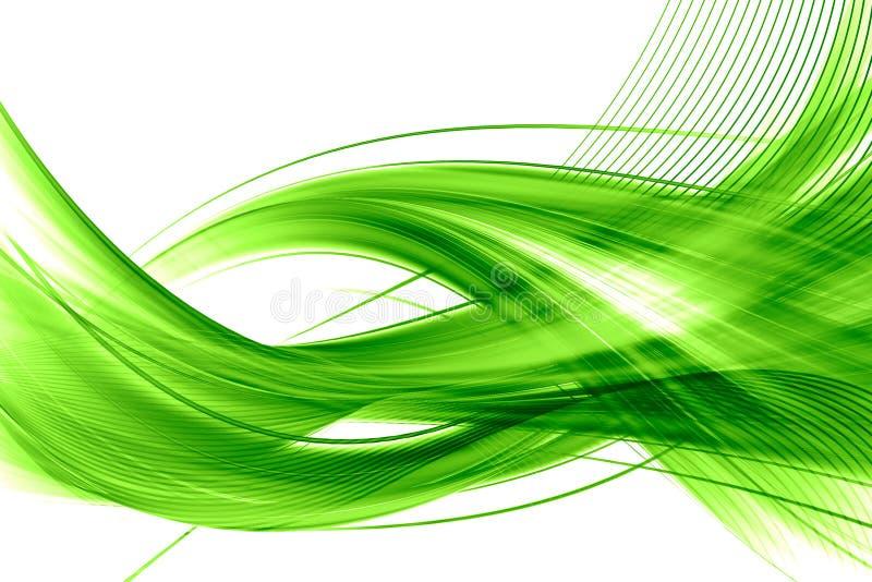 抽象背景绿色 皇族释放例证