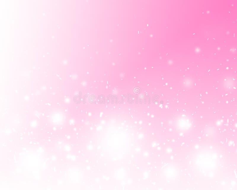 抽象背景美好的颜色粉红色 皇族释放例证