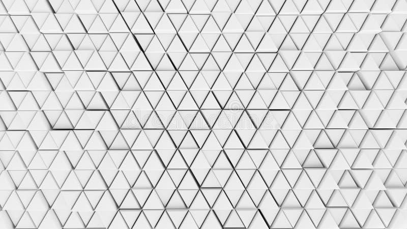 抽象背景背景墙壁细胞清楚的颜色白色未来派图表六角形 向量例证