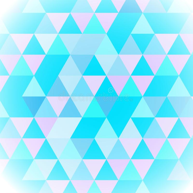 抽象背景艺术美好的多角形样式,传染媒介例证 向量例证