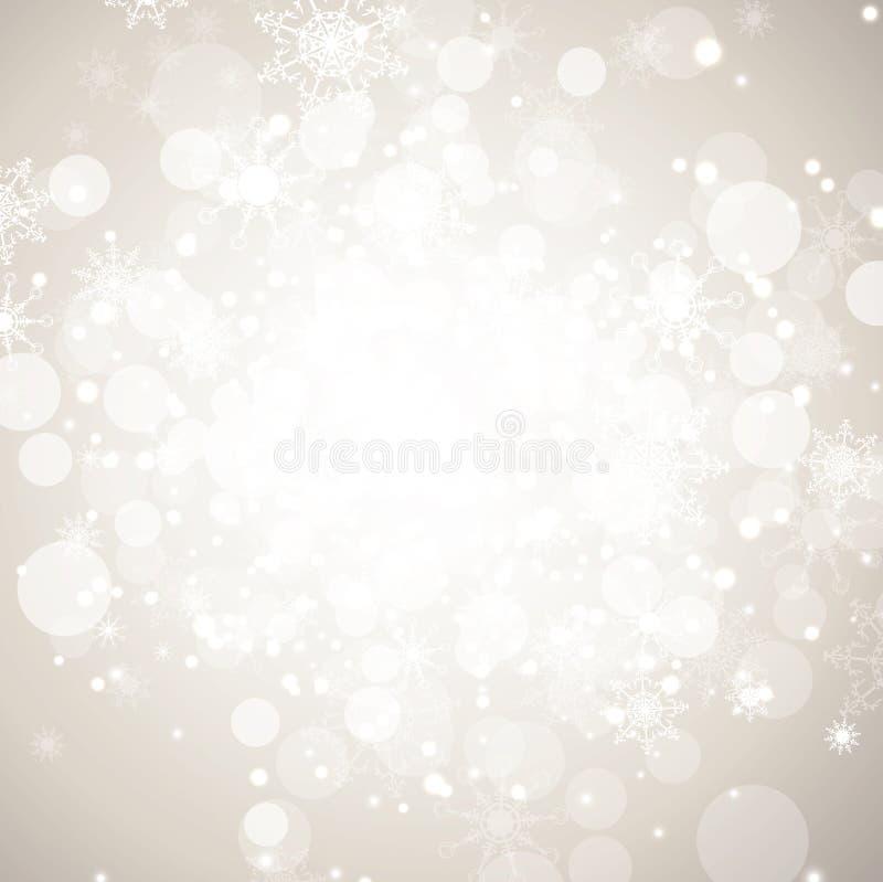 抽象背景节假日冬天 皇族释放例证