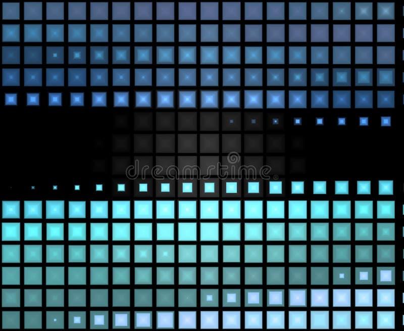 抽象背景蓝绿色 向量例证