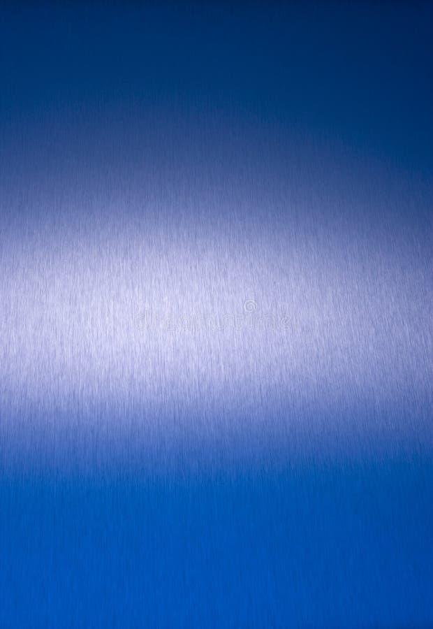 抽象背景蓝色不锈钢 库存图片