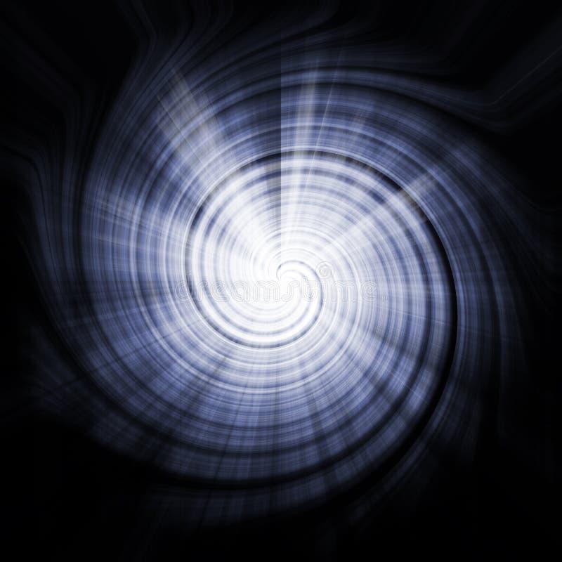 抽象背景蓝色安慰性的纹理漩涡 皇族释放例证