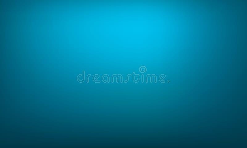 抽象背景蓝色梯度 明亮的梯度 皇族释放例证