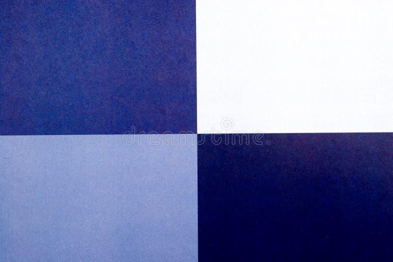 抽象背景蓝色正方形 免版税库存照片