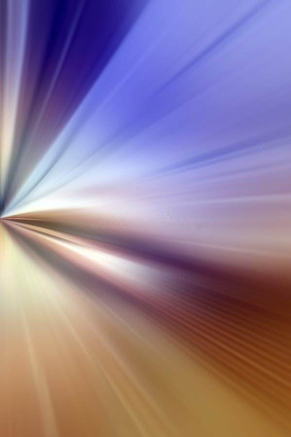 抽象背景蓝色褐色口气 库存例证