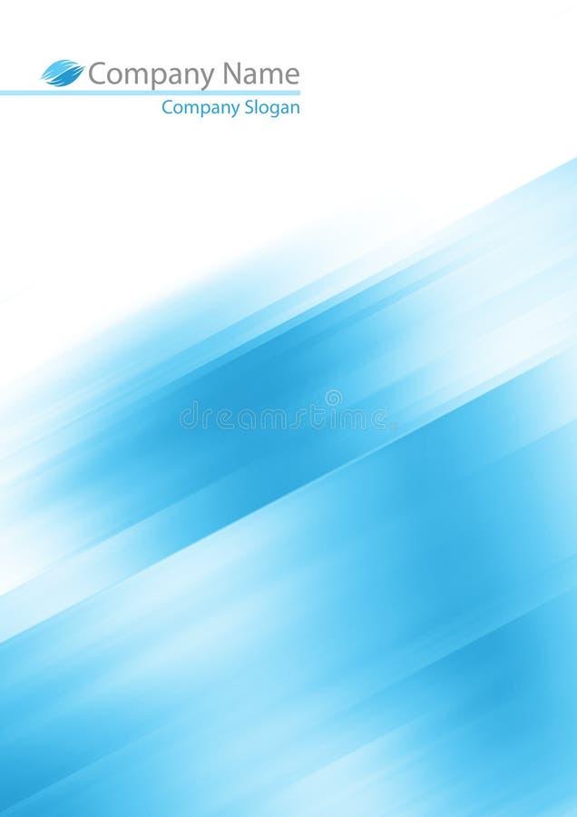抽象背景蓝色软件 向量例证
