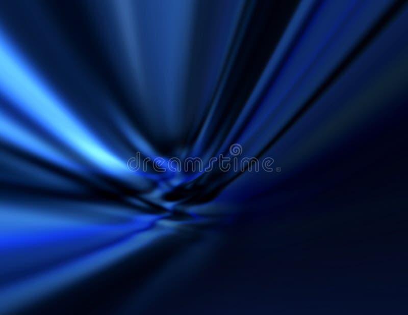 抽象背景蓝色黑暗 库存例证