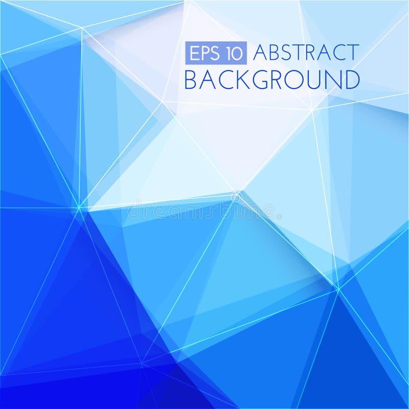 抽象背景蓝色黑暗 向量例证