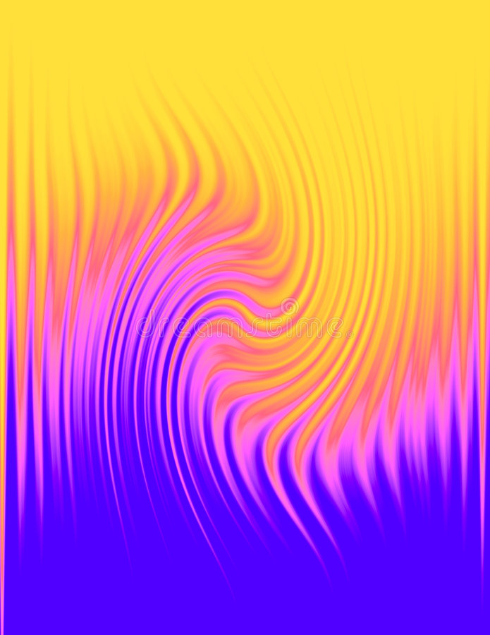 抽象背景被仿造的波浪 皇族释放例证