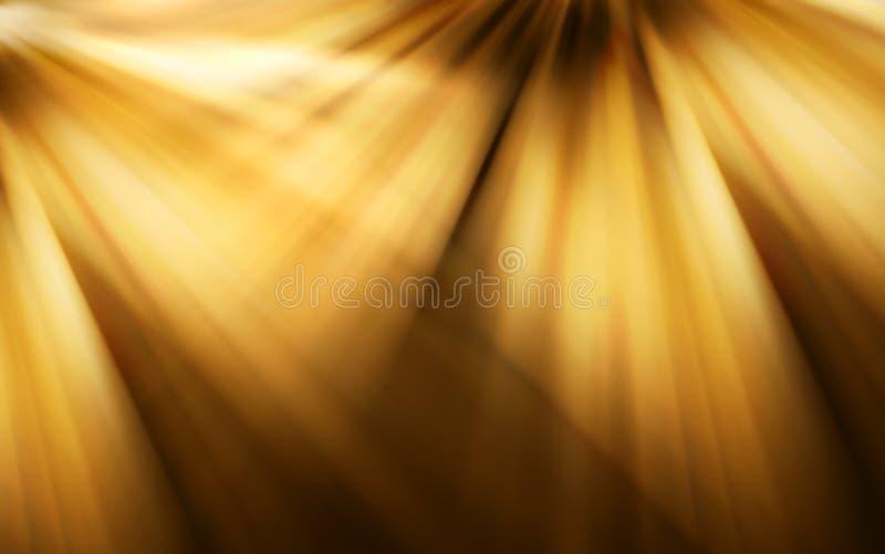 抽象背景褐色定调子黄色 向量例证