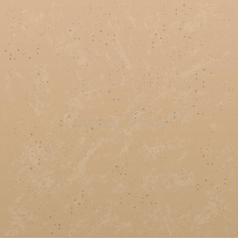 抽象背景褐色 向量例证