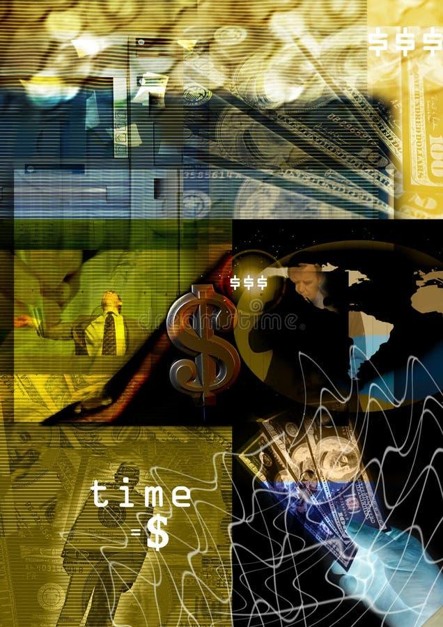 抽象背景货币