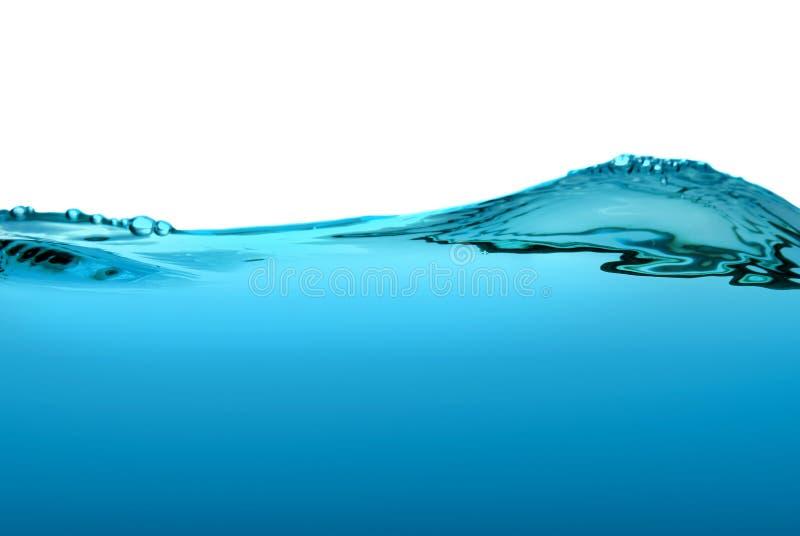 抽象背景起泡水 免版税库存照片