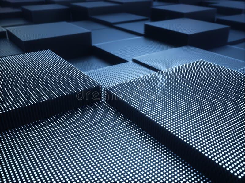 抽象背景金属结构 皇族释放例证
